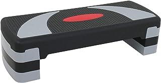 """HomGarden 31"""" Adjustable Workout Aerobic Stepper in Fitness & Exercise Step Platform Trainer Stepper w/Risers Adjust 4"""" - ..."""