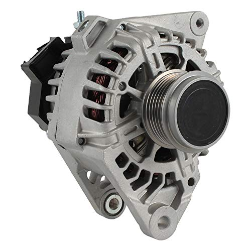 New Alternator Compatible with/Replacement for 2011-16 Hyundai Elantra Ir/If; 12 Volt; 90 Amp, 37300-2E200