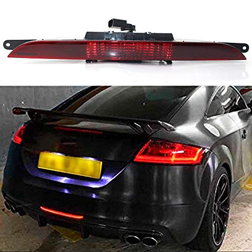 GZYF Auto Car Rear Bumper Fog Light Stop Reflector Lamp Compatible with Audi TT MK2 2008-2013