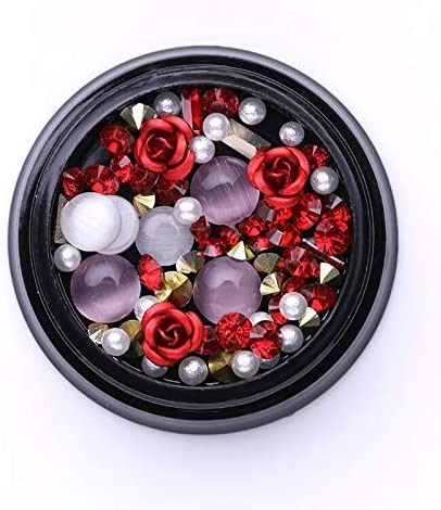 RD-33176 Max 87% OFF Decor Rhinestone 1 A surprise price is realized Box Studs Rhinestones Colorful Mixed