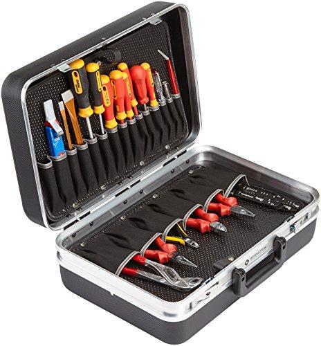 Bernstein Werkzeug GmbH Service-Koffer Performance mit Werkzeugsatz für Elektriker, 48-teilig 5000 BAS