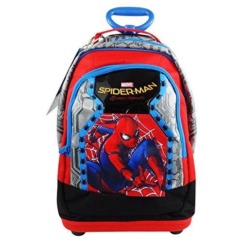 Seven DC Comics Spiderman Home Coming Zaino con Sistema Trolley Scuola Elementare Medie