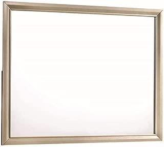 Coaster Home Furnishings Dresser Mirror, Cream/Champagne