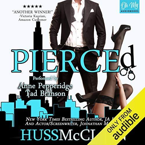 Pierced audiobook cover art