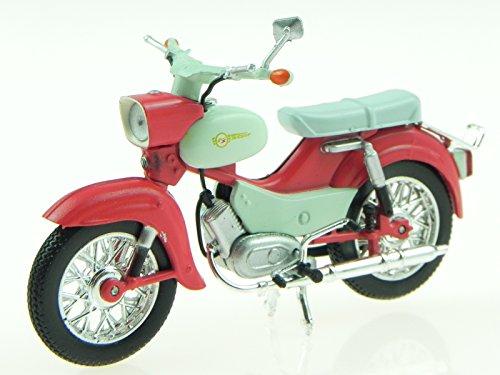 NN Simson Star DDR Ostalgie Motorrad Modell Atlas 1:24