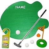 alles-meine.de GmbH XL Set -  Bürogolf & Tischgolf - Golf Spiel mit Schläger & Golfball  - inkl....