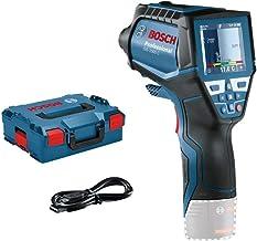 Bosch Professional Sistema 12V Termómetro de infrarrojos GIS 1000 C, sin batería y cargador, con función de aplicación, intervalo de temperaturas: de -40°C a 1000°C, en L-BOXX