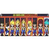 Alfombrilla de ratón Anime y Juegos,Dragon Ball Super-3 Alfombrilla para Ordenador portátil, Alfombrilla para Mesa, Antideslizante, de Goma, Universal 900X400X3MM XXL