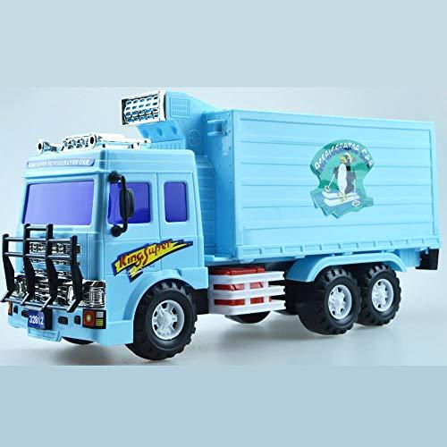 Xolye Trägheit vorwärts Gefrierschrank Auto Spielzeug Große Behälter Spielzeug Auto Große Kapazität LKW Transportfahrzeug Engineering Fahrzeug Jungen Kind Spielzeug Auto Geschenk