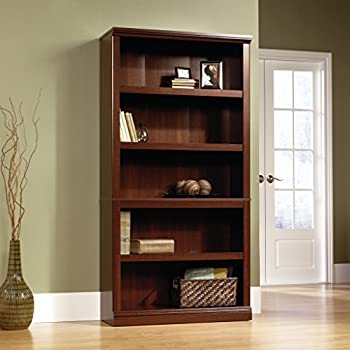 Sauder Select Collection 5-Shelf Bookcase Select Cherry finish
