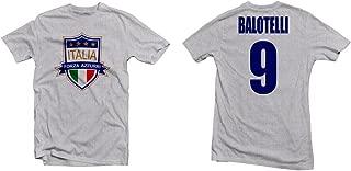 Italy Forza Azzurri Hero Tee: Mario Balotelli Printed Tee