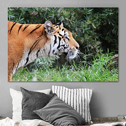 SIGNLEADER Tiger Wall Art Office free shipping Canvas 2021 model Home for