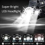 Zoom IMG-2 newlemo torcia frontale lampada led