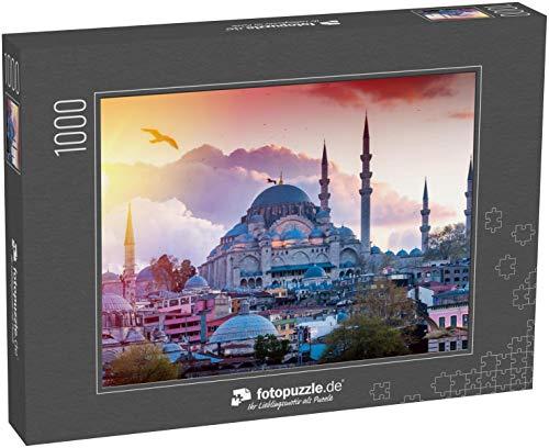 Puzzle 1000 Teile Istanbul, die Hauptstadt der Türkei, östliche Touristenstadt - Klassische Puzzle, 1000/200/2000 Teile, in edler Motiv-Schachtel, Fotopuzzle-Kollektion 'Türkei'