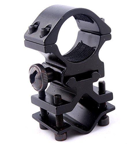 20mm Weaver estándar 1inch Linterna combinada y Montaje de la Vista del Laser con Adaptador de Barril