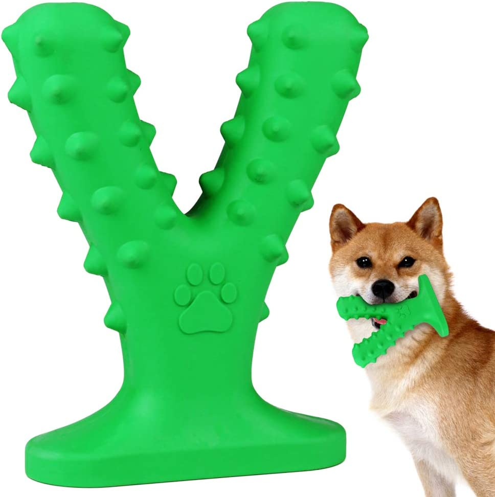 Geila Las Vegas Mall Dog Chew Toys 2021 new Teeth Cleaning Toothbrush Toy with Suction C