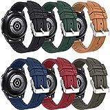 Songsier Cinturino Compatibile con Galaxy Watch 46mm/Galaxy Watch 3 45mm/Gear S3/Gear 2/ Huawei Watch GT2 PRO 46mm/Watch GT 46mm/Watch GT Active/Watch 2 Classic, Cinturino di Ricambio da 22 mm