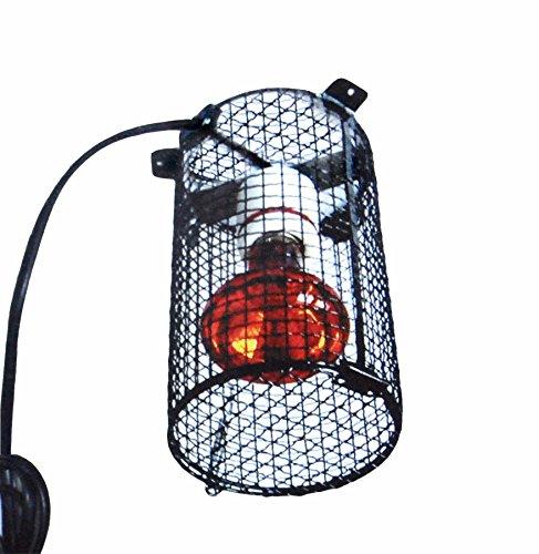 Dragon Lampenschutzkorb Complete ca. 12 cm Durchmesser , ca. 19 cm hoch inkl.Porzellanfassung E27 / Lampenschutzgitter