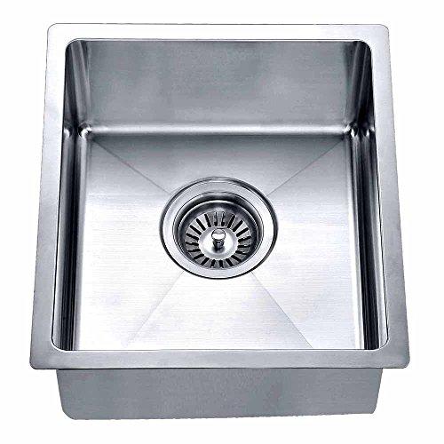 Dawn Polished Satin Undermount Single Bowl Bar Sink
