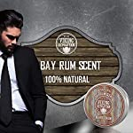 Beard Balm with Bay Rum Scent and Argan & Jojoba Oils - Styles, Strengthens & Softens Beards & Mustaches - Leave in… 5