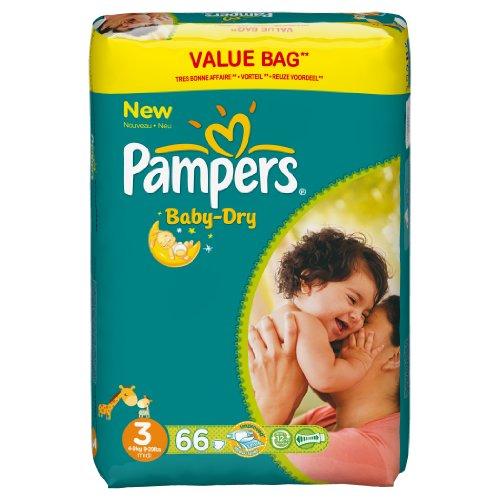 Pampers Sofas Baby-Dry Größe 3Midi (4–9kg) –-Format© CONOMIQUE 1x 66Sofas