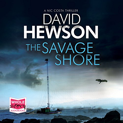 The Savage Shore audiobook cover art
