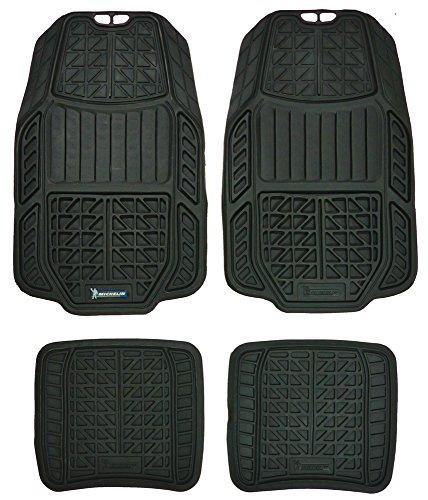Michelin Rubber Carpeted Floor Mats