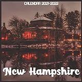 New Hampshire Calendar 2021-2022: April 2021 Through December 2022 Square Photo Book Monthly Planner New Hampshire small calendar