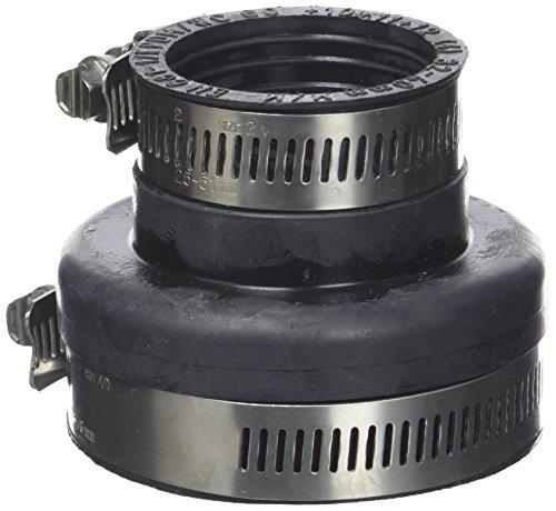 ISOTIP-JONCOUX 824301 Adaptateur Prise D'Air EPDM 60F/40F, Noir