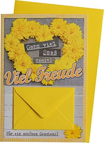 Glückwunschkarte Grußkarte Geldkarte Geburtstag 41-H1080