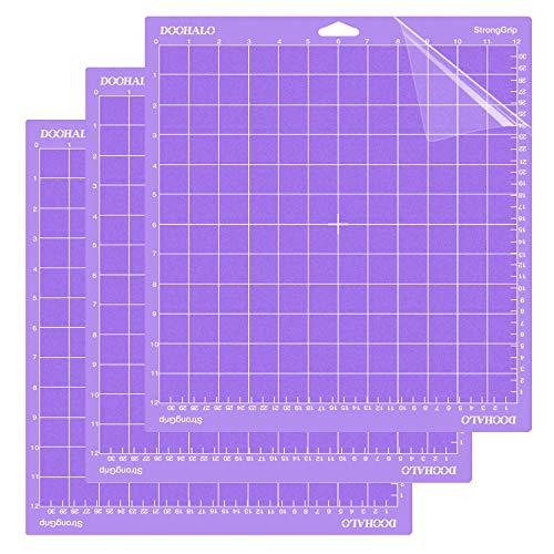 DOOHALO Cutting Mat for Cricut Maker and Cricut Explore Air2/One Smart Cutting Machine Expression 12...