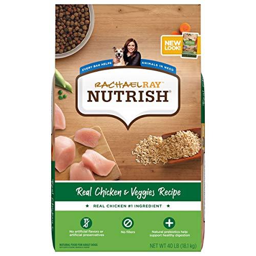 Rachael Ray Nutrish Premium Natural Dry Dog Food, Real Chicken & Veggies Recipe,...