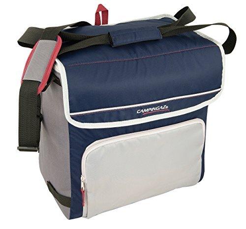 Campingaz Kühltasche Fold N Cool Nevera Flexible, 20 l, Unisex, Azul Marino/Gris + M20 Acumulador Frio, Unisex, Azul, 17 x 3 x 20 cm