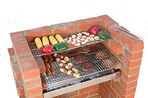 Original DIY Brick Grill Kit BKB 501 - 100% Stainless Steel Built...
