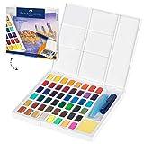 Faber-Castell Pinturas de acuarela, multicolor, 48