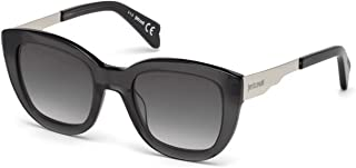 JC754S 20F Transparent Black Cat Eye Sunglasses for Womens
