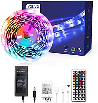 Volivo 16.4-Ft. LED Strip Lights with Remote