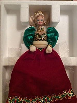 Holiday Jewel Porcelain Barbie Doll