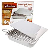 Brand new cameron stovetop smoker,chips & instruction/recipe book. by Cameron