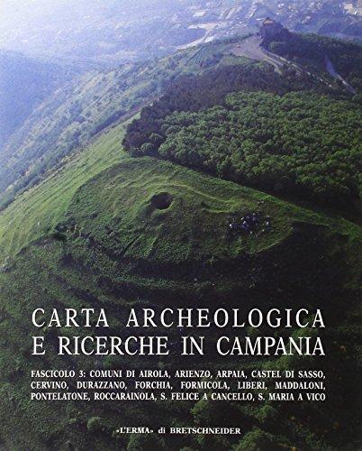 Carta archeologica e ricerche in Campania. Ediz. illustrata: 15\3