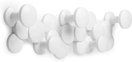Umbra 1010187-660 Bubble Multi Modern, Decorative, Space-Saving Coat Hanger 5 Hooks for Hanging Accessories, Etc. -Won't S...