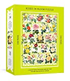 Roses in Bloom Puzzle: A 1000-Piece Jigsaw Puzzle Featuring Rare Art from the New York Botanical Garden : Jigsaw Puzzles for Adults