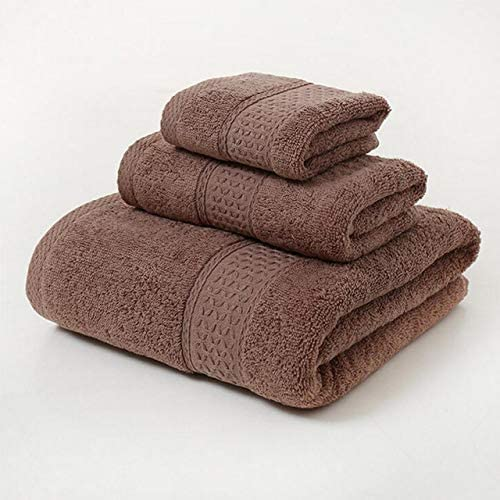 WHZG Fresno Mall Bath Towels Spring new work Towel Sets Solid Color 100% T Large Cotton
