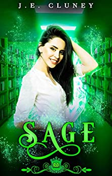 Sage: A paranormal romance (Spell Library Book 8) by [J.E. Cluney, Silver Springs Library]