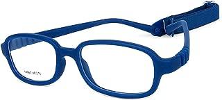 Children Optical Glasses Frame tr90 Flexible Bendable One-piece Safe Eyeglasses Girls Boys