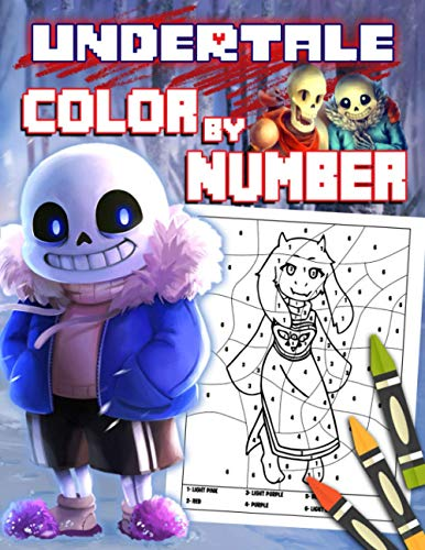 Undertale Color By Number: One Way To Get Rid Of Boredom And Fatigue Is To Color With Undertale Color By Number That Will Give You a New Coloring Experience.