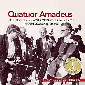 Haydn, Mozart & Schubert: Œuvres avec quatuor à cordes (Les indispensables de Diapason)