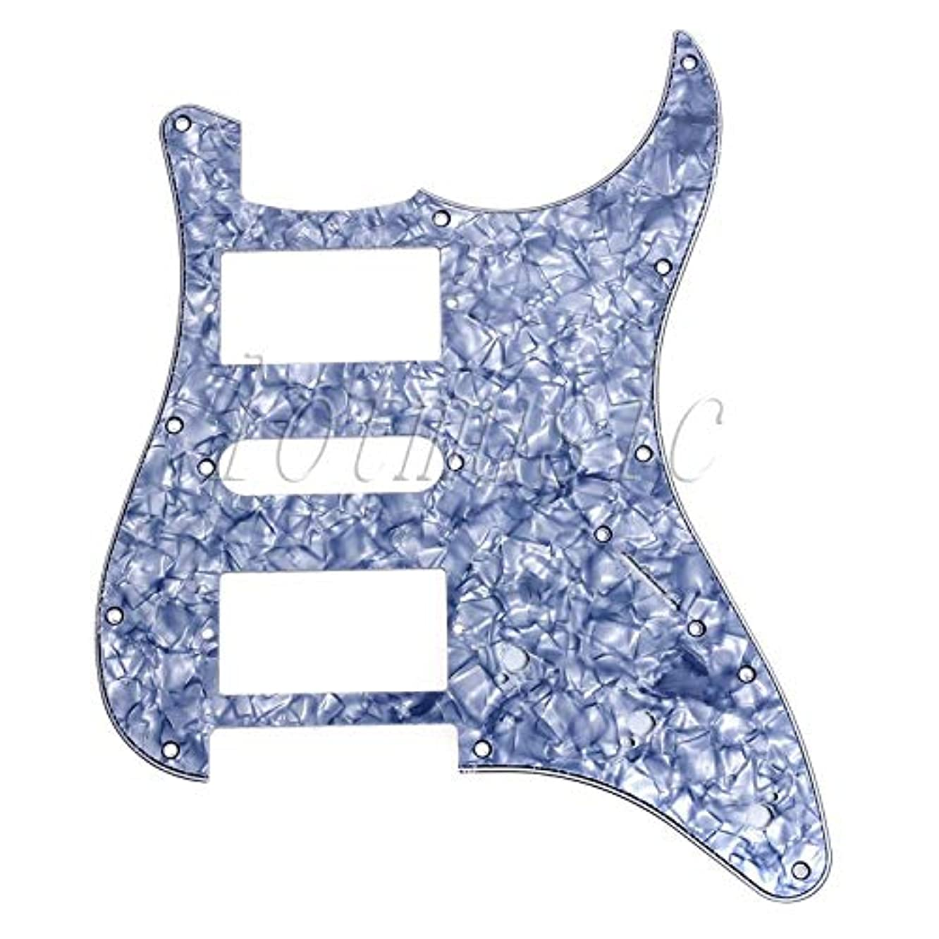 Electric Guitar Pickguard Scratch Plate For ST Guitar Parts Replacement Material HSH 3 Ply Pearl White Black
