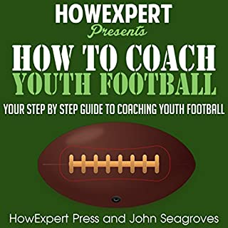 How to Coach Youth Football audiobook cover art