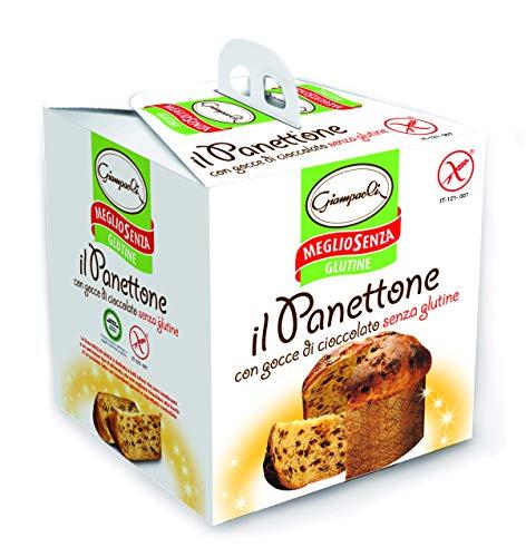 Giampaoli Panettone senza Glutine con Gocce di Cioccolato - 3 Confezioni da 400 g